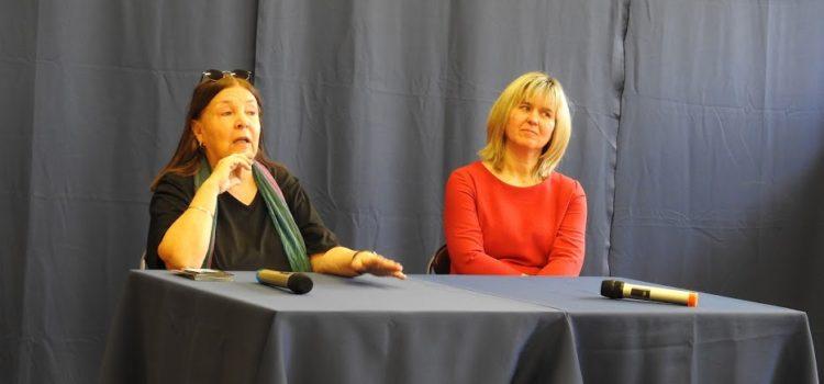 Spotkanie aktorskie z Panią Martą Lipińską