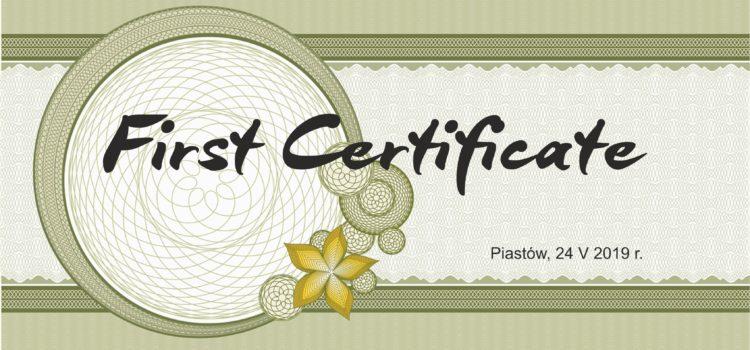 Egzaminy certyfikujące  z j. angielskiego w naszym LO