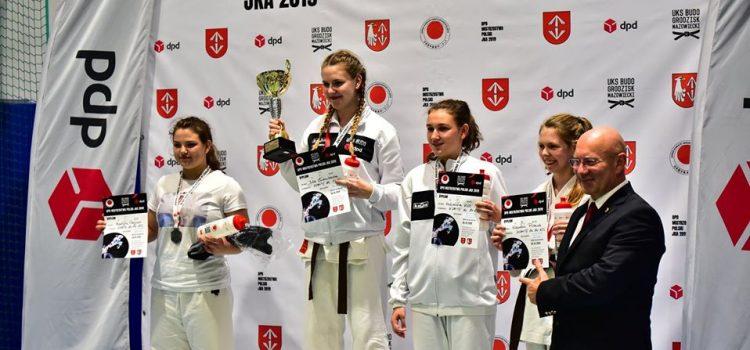 Złoty medal Mistrzostw Polski dla naszej uczennicy