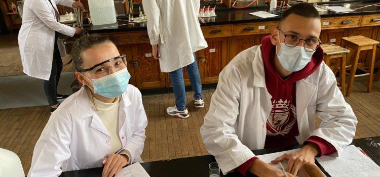Zajęcia laboratoryjne na Politechce Warszawskiej dla naszych uczniów